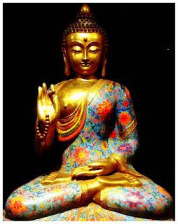 Hòa thượng trông thấy Đức Phật bị thiêu đốt trong hỏa ngục