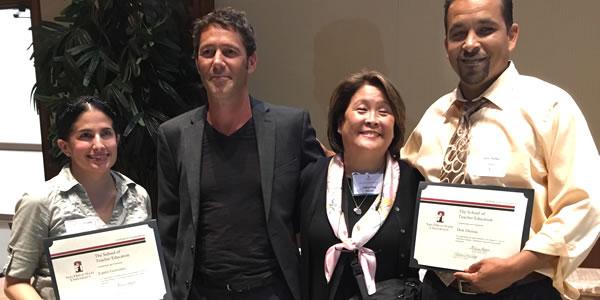 Laura Gonzalez, Dr. Luke Duesbery, Dr. Valerie Pang, Don Dumas