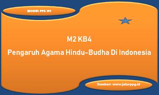pengaruh agama hindu budha di indonesia m2 kb4
