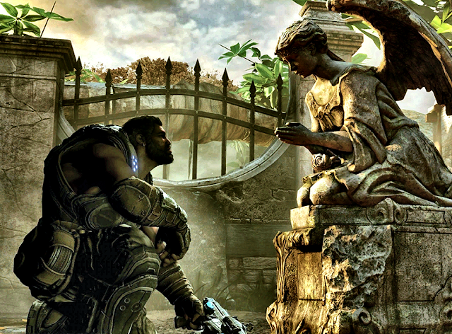 Доминик Сантьяго из Gears of War 3