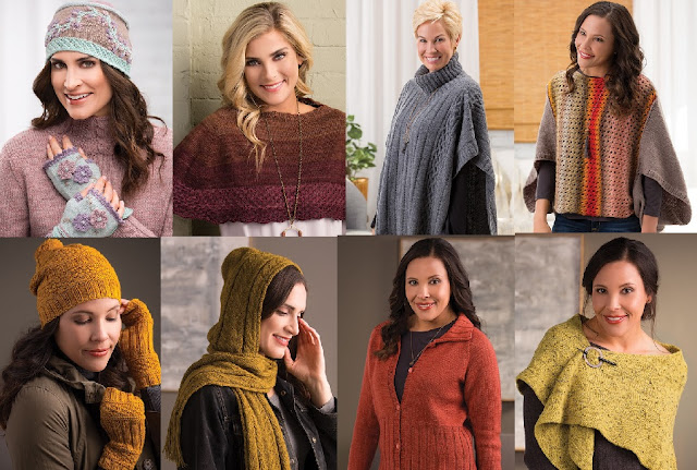 Sweaters Hats Ponchos and More Knitting Patterns for fall
