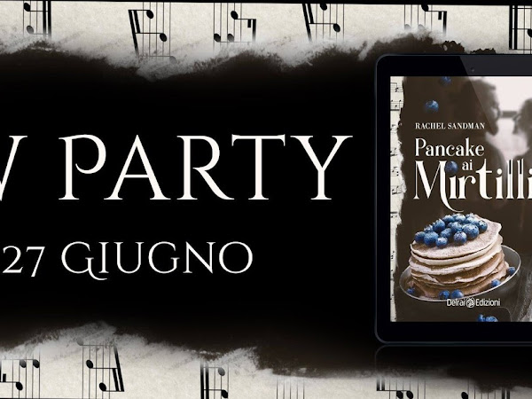 *Review Party* PANCAKE AI MIRTILLI di Rachel Sandman [Delrai Edizioni]