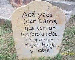 Acá yace Juan García