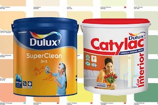 Jenis Warna Cat Dulux dan Catylax