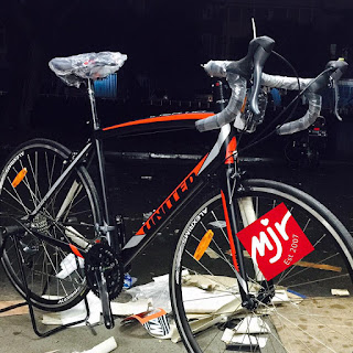 Sepeda Balap United Inertia-2 Hitam Merah