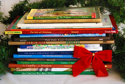 advent with books