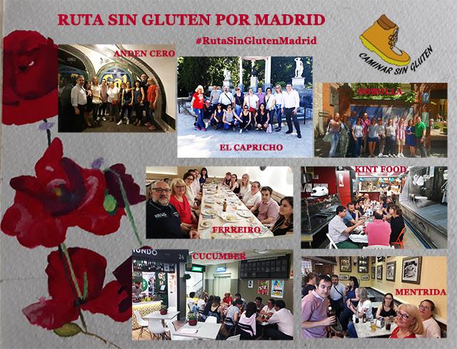 RESUMEN DE LA RUTA SIN GLUTEN POR MADRID