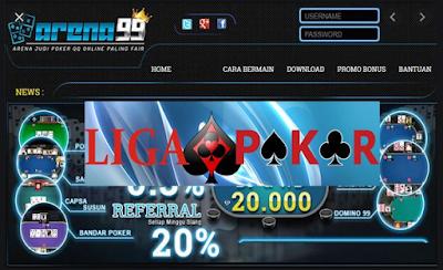 Situs Poker Terbaru dan Terpercaya No Robot di Arena99