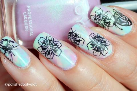 Top 100+ Spring Floral Nail Designs For 2019