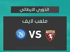 نتيجة مباراة تورينو ونابولي اليوم الموافق 2021/04/26 في الدوري الايطالي