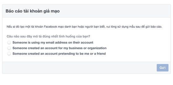 Cách xử lý khi bị mạo danh trên Facebook