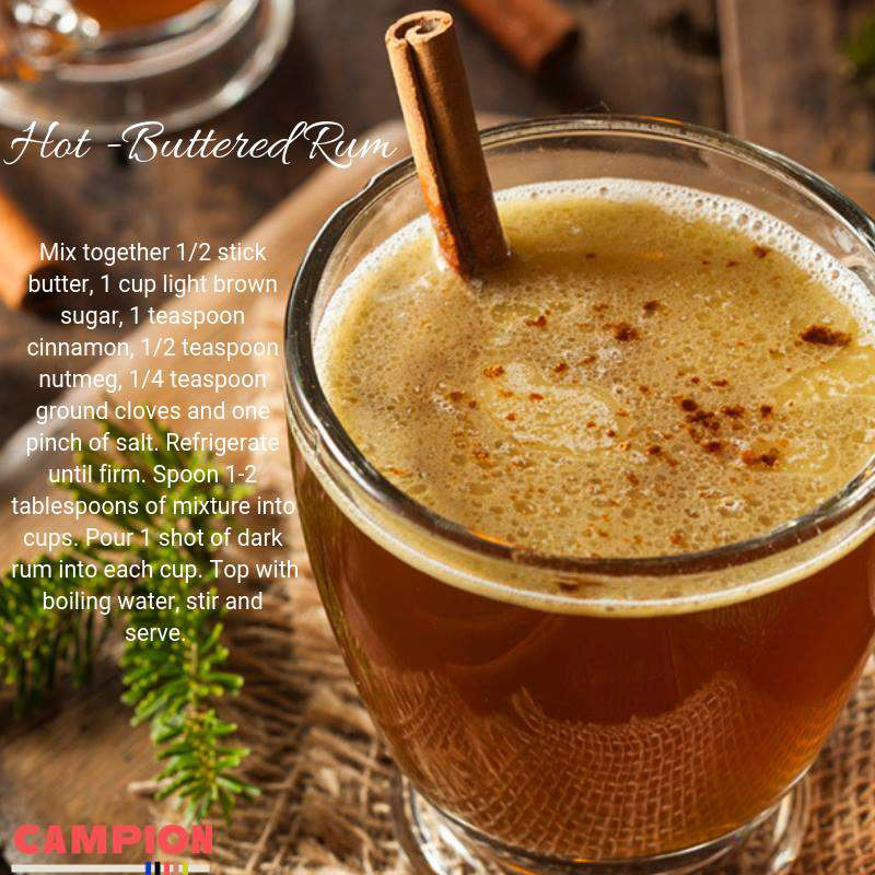 National Hot Buttered Rum Day Wishes