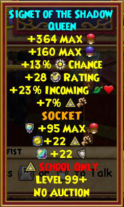 Wizard101 Morganthe Drop Guide: Accessories