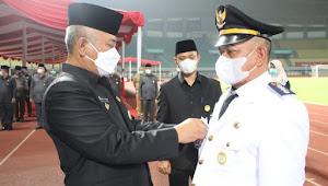 Walikota Bekasi Lantik Pejabat Esselon II III IV di Stadion Patriot Chandrabhaga Bekasi