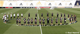 Sentido homenaje del Real Madrid a Blanca Fernandez Ochoa