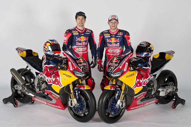 Παρουσίαση Red Bull Honda World Superbike 2017
