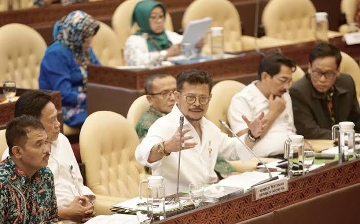 Mentan Syahrul YL, Komisi IV DPR-RI Adalah Mitra Kementrian Pertanian