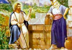 Samaritan woman at the well