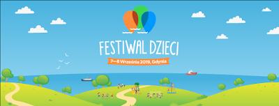 Festiwal Dzieci Gdynia, czyli o festynie w strugach deszczu.