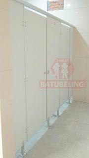 4 Unit Cubicle Toilet di Stasiun Jombang