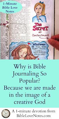 Genesis 1:1, Bible Journaling