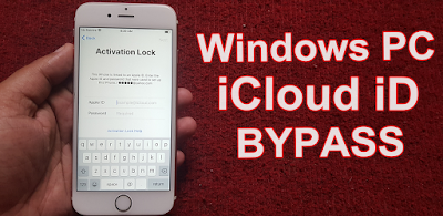[Windows Pc] iPhone 6S iCloud iD Bypass iOS13.4.5 By iCloud Bypass Tool