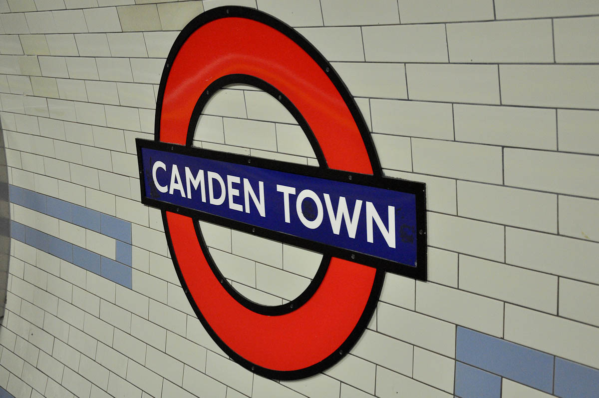 Camden Town Tube Station, London, England