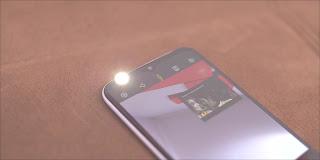 Flash depan kamera Tecno Spark 6 Go