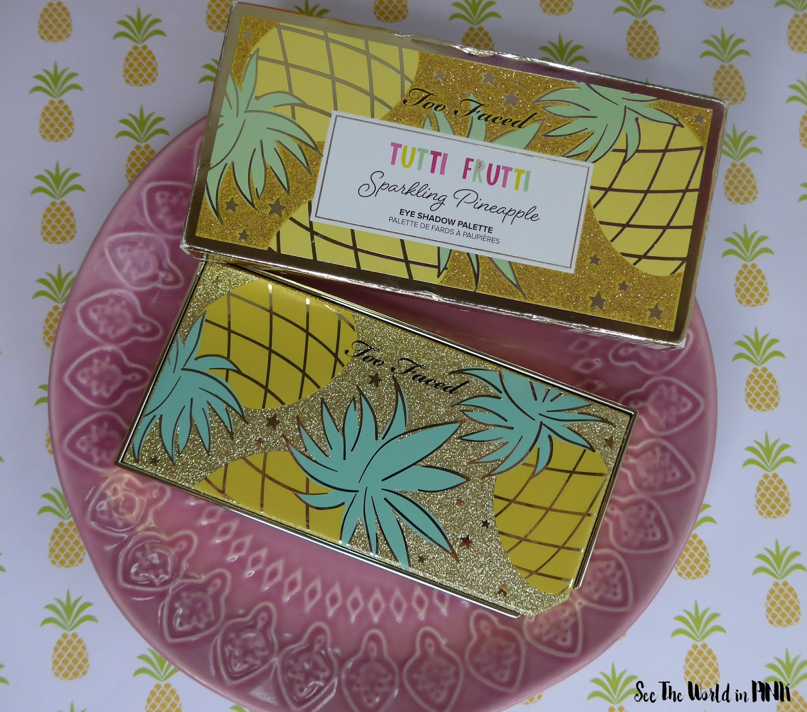 Too Faced Tutti Frutti Collection - It's Bananas Brightening Setting Powder