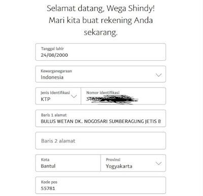 Informasi Kartu Identitas