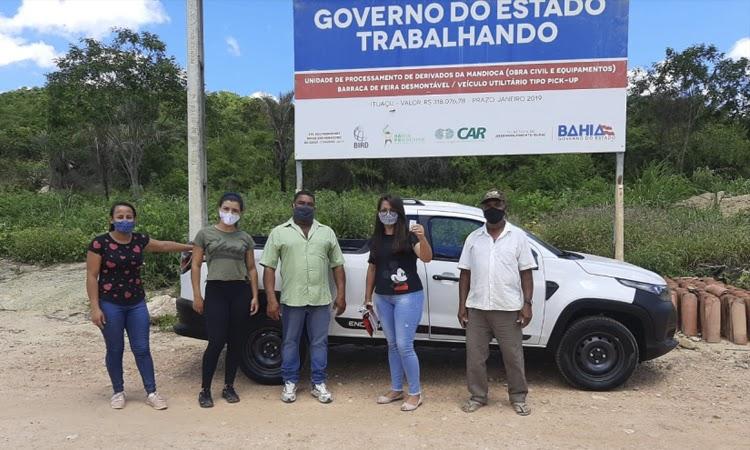 Agricultores familiares de Ituaçu vão contar com unidade de processamento de derivados de mandioca