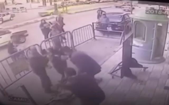Αστυνομικός έπιασε στον αέρα παιδί που έπεσε από 3ο όροφο (βίντεο)