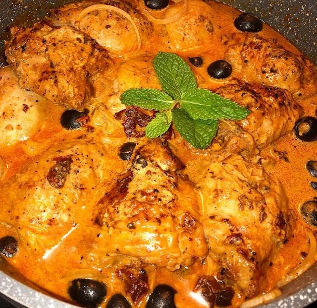 receta de pollo en salsa chipotle cremoso