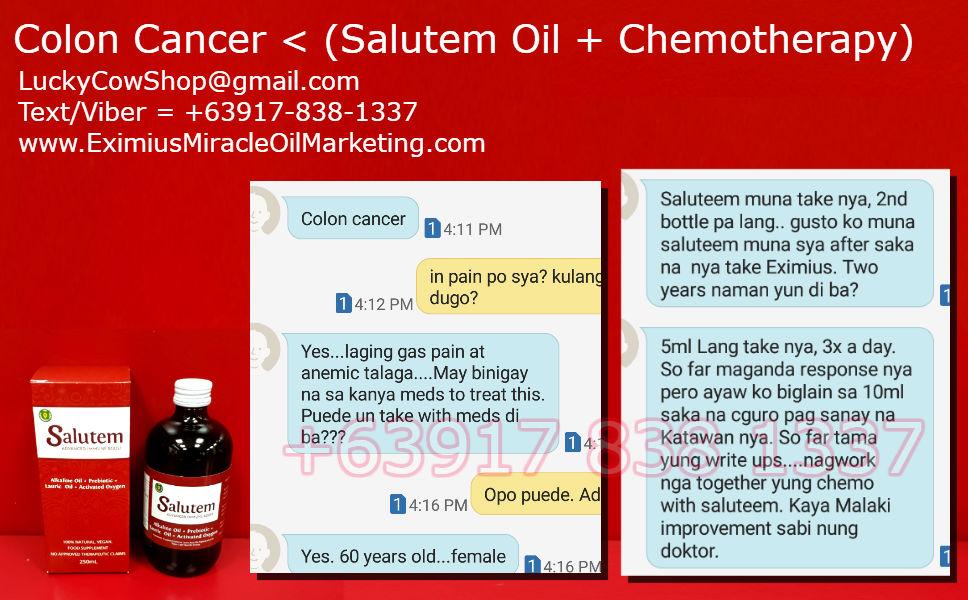 Salutem Oil Cancer Treatment Aid