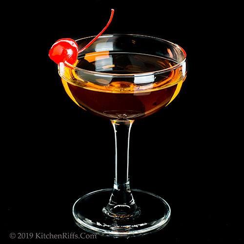 The Widow's Kiss Cocktail
