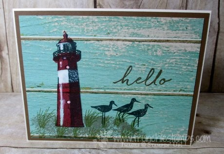 high tide, serene scenery, Stampin'Up! Frenchie Stamps