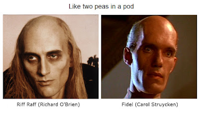 Richard O'Brien Carol Struycken lookalikes