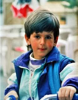 Novak Djokovic Childhood Photo