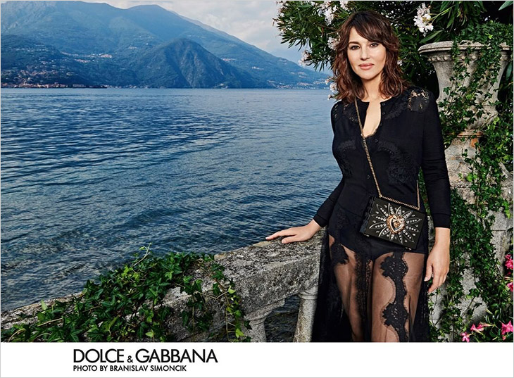 Dolce & Gabbana SS21 Devotion Bag Campaign