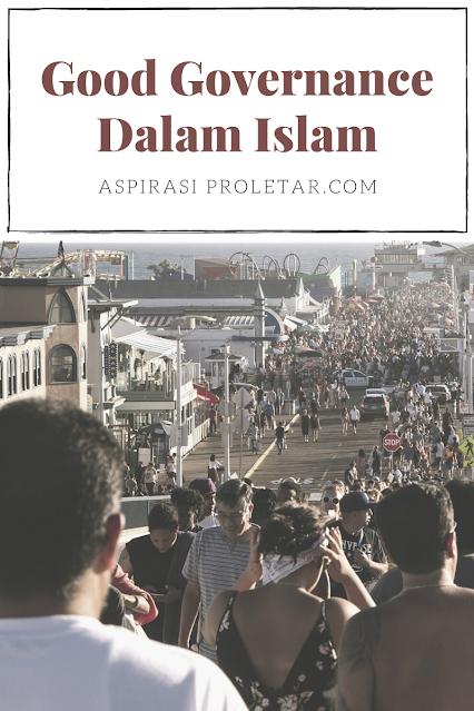 Good governance dalam islam