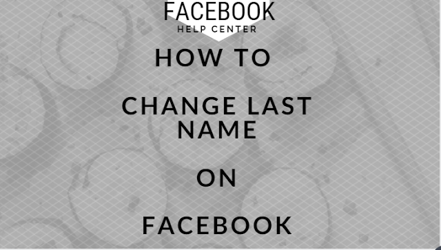 Edit my name on Facebook