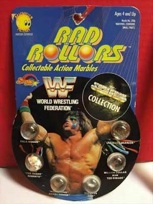 Le biglie del wrestling WWF