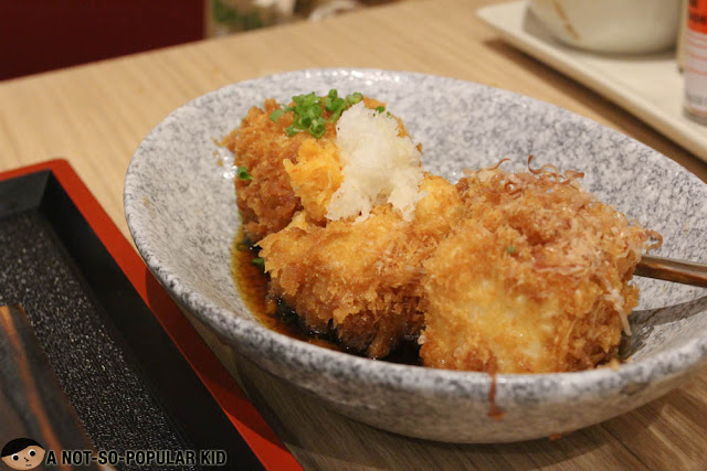 Agedashi Tofu of Yabu Restaurant