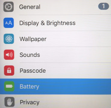 ios iphone ipad general settings