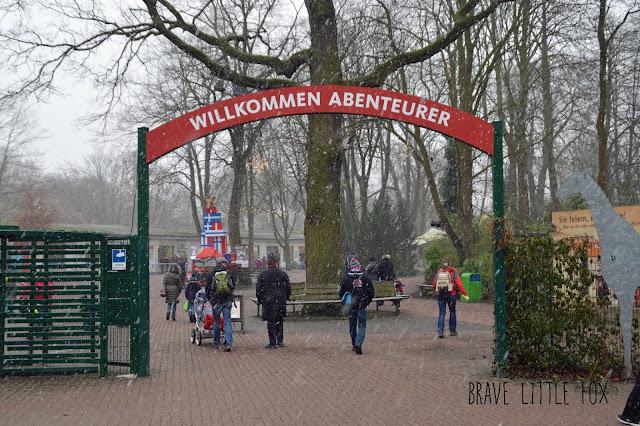 Eingang Erlebnis-Zoo Hannover