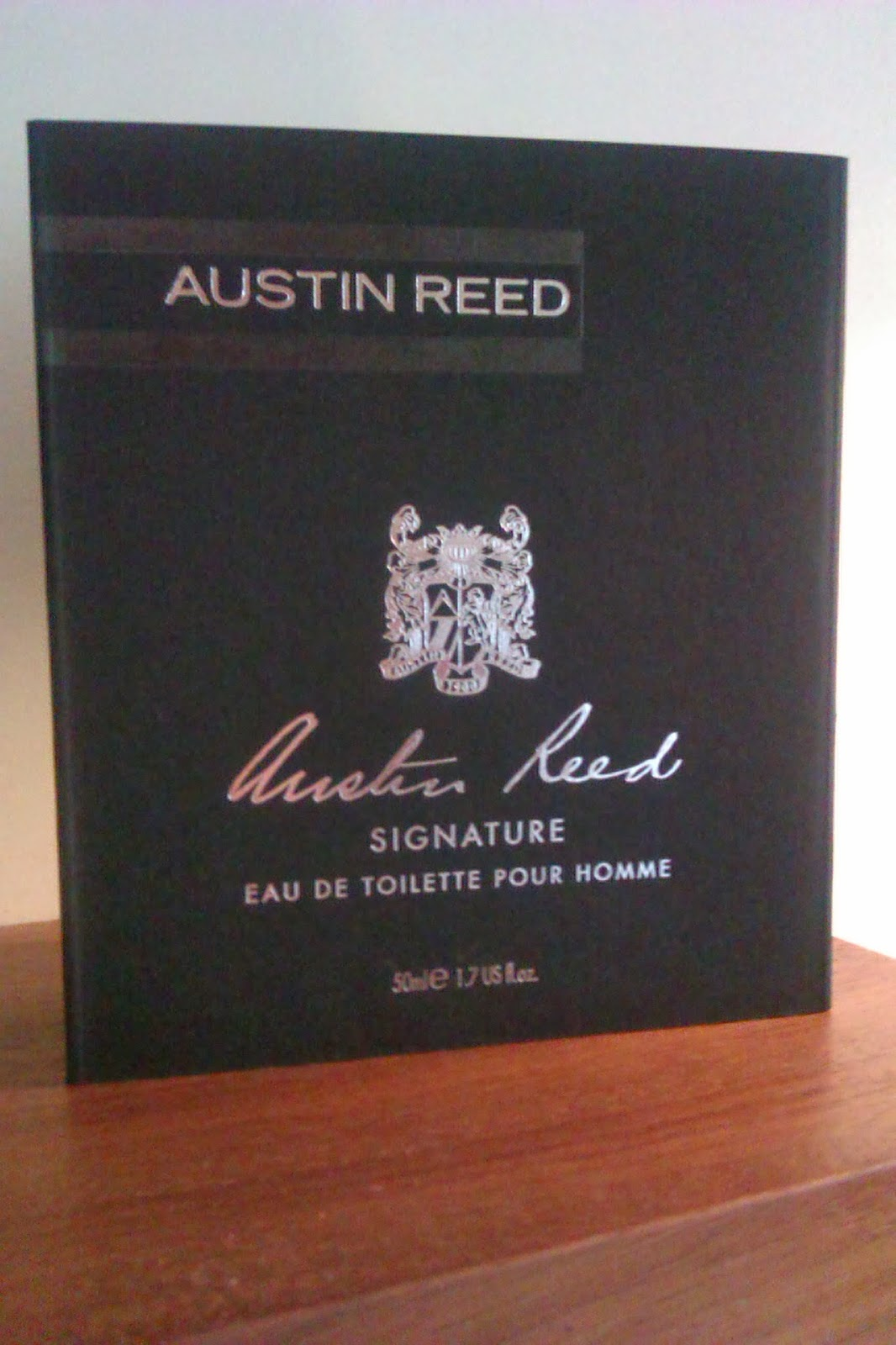 Men S Styling Austin Reed S New Fragrance Signature Eau De Toilette Pour Homme