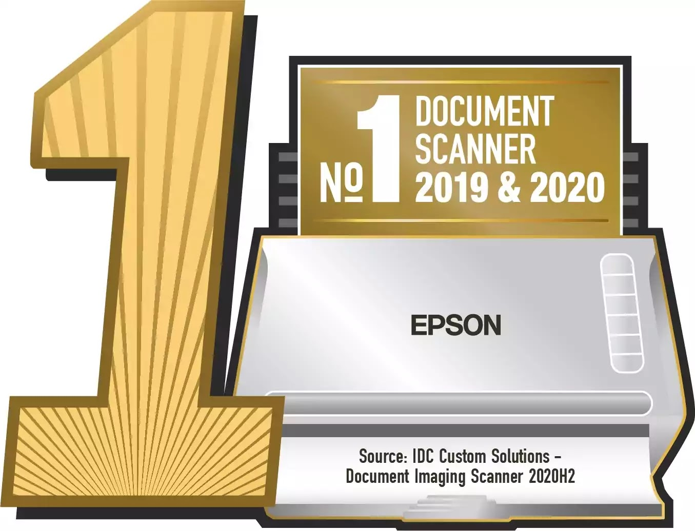 Number 1 Seal for Scanners 2019-2020