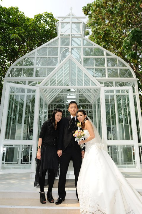 Ada Choi Makeup Stage: Boom & Ryan Wedding Day