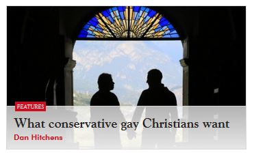 Articles on gay christians