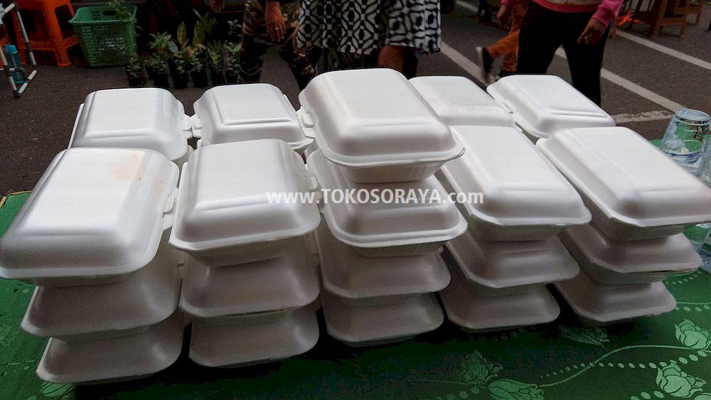 Jual Nasi Bungkus Lauk Ayam Pedas Paket Murah Ekonomis